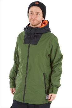 Wearcolour Block Ski/Snowboard Jacket S Olive