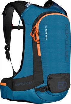 Ortovox Free Rider Ski/Snowboard Backpack, 18L Blue Sea