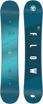 Flow Jewel Women's Hybrid Camber Snowboard, 146cm 2018