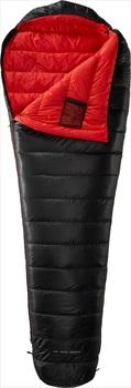 Yeti VIB 250 Lightweight Down Sleeping Bag, L Black/Red LZ
