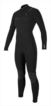 O'Neill Wetsuits Hyperfreak 5/4 Women's CZ Wetsuit, Size 10 Black
