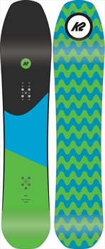 K2 Party Platter Hybrid Camber Snowboard, 143cm 2019
