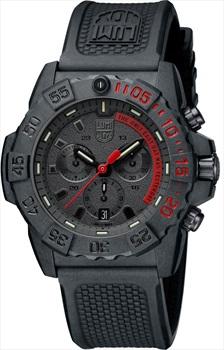 Luminox Navy Seal 3580 XS.3581.EY Wrist Watch, Black/Red