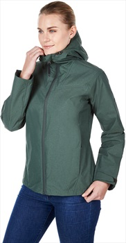Berghaus Hayling Women's Waterproof Jacket, UK 8 Deep Forest