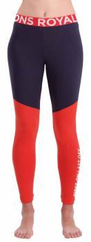 Mons Royale Christy Women's Merino Wool Leggings S 9 Iron/ Poppy