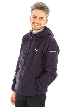 Salewa Puez Tirol Wool Celliant Half Zip Insulated Jacket XL Dark Navy