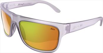Melon Halfway Red Chrome Polarized Sunglasses, Slate