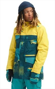 Burton Covert Ski/Snowboard Jacket, S 92 Air/Maize