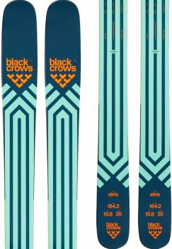 Black Crows Atris Skis 184cm, Blue/Orange, Ski Only