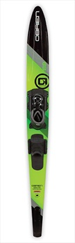 "O'Brien World Team Slalom Waterski, 66"" W/ Z9 Std Black Green 2020"