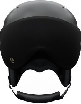 Gogglesoc Snowboard/Ski Visor Lens Cover, Black Visorsoc
