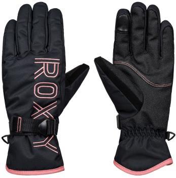 Roxy Womens Freshfield Women's Snowboard/Ski Gloves, S True Black