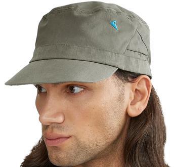 Klattermusen Grimner Cap Water Resistant Cotton Hat, Dusty Green