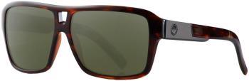 Dragon The Jam G15 Green Lens Sunglasses, L Shiny Tortoise