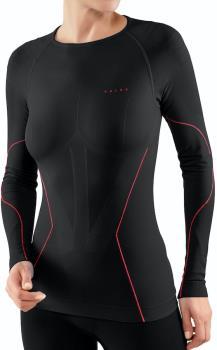 Falke Women's Tight Long-Sleeved Shirt Base Layer Top L Fuego