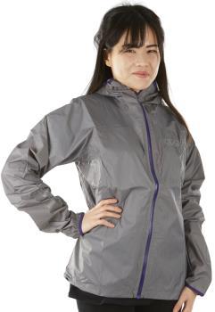 OMM Halo Women's Waterproof Shell Jacket, UK 14 Grey