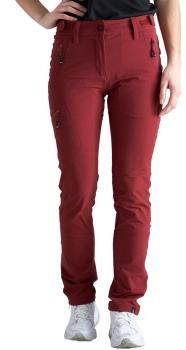 Five Seasons Larissa Womens Soft Shell Trekking Pants, UK 12 Dry Red