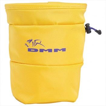 DMM Tube Rock Climbing Chalk Bag, Os Yellow