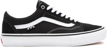 Vans Skate Old Skool Trainers/Shoes, UK 10.5 Black/White