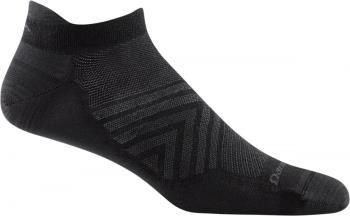 Darn Tough Run No-Show Tab Ultra-Light Running Socks, L Black