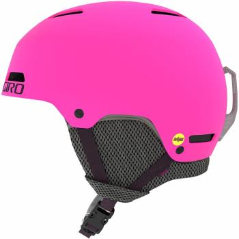 Giro Child Unisex Crue Mips Kids Ski/Snowboard Helmet, M Matte Bright Pink
