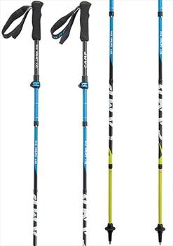 CAMP Sky Carbon Evo Folding Trekking Poles, 115-135cm