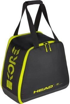 Head Freeride Ski/Snowboard Boot Bag, 30L Black/Yellow