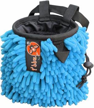 i'bbz Rasta Rock Climbing Chalk Bag, Blue