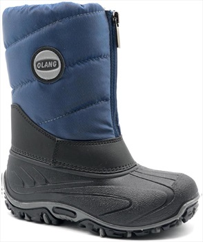 Olang BMX Kids Winter Snow Boots, UK Child 9.5/10.0 Navy
