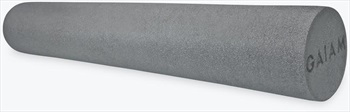 "Gaiam Restore 36"" Foam Roller, 36"" Grey"