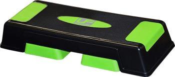 Urban Fitness Equipment Adjustable Aerobic Step, Charcoal/Green