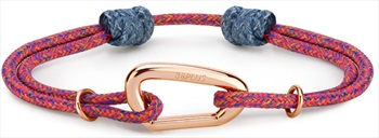 8b+ Carabiner X Nylon Cord Noufaro Rock Climbing Inspired Bracelet