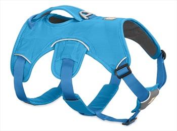 Ruffwear Web Master Active Dog Harness With Handle, M Blue Dusk