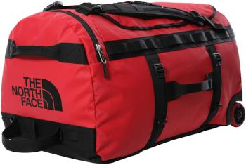 The North Face Base Camp Duffel Roller Luggage Bag, 97L TNF Red