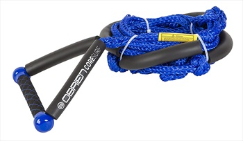 O'Brien Floating Core Wakesurf Rope and Handle, 24' Blue