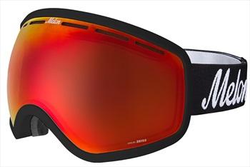 Melon Chief Red Chrome Sonar Snowboard/Ski Goggle, M/L Black