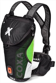 Coxa Carry R5 Backpack Hydration For Skiing / Running 5.5L Green Black