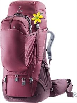 deuter Womens Aviant Voyager 60 +10 SL Travel Backpack, 60L Aubergine