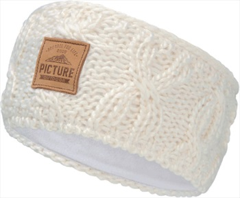 Picture Haven Headband Ski/Snowboard Beanie, One Size Off White
