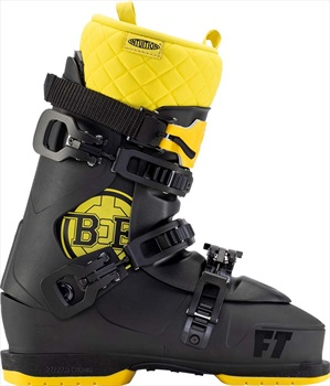 Full Tilt Adult Unisex B&E Pro Ski Boots, 27/27.5 Black/Yellow 2021