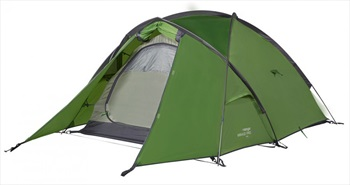 Vango Mirage Pro 200 Backpacking & Camping Tent, 2 Man Pamir Green