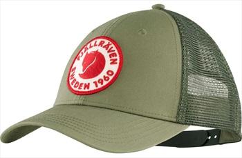 Fjallraven 1960 Logo Langtradarkeps Trucker Cap, L/XL Green