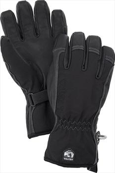 Hestra Short Softshell Ski Snowboard Gloves, XXL Black