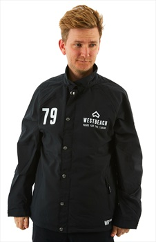 Westbeach Cruiser Ski/Snowboard Coaches Jacket, M Black