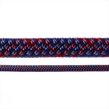 Tendon Ambition Rock Climbing Rope, 50m X 8.5mm, Blue/Purple