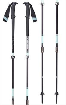 Black Diamond Women's Trail Pro Adjustable Trekking Poles, 59-125cm