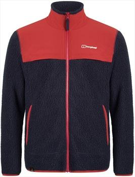 Berghaus Syker Full-Zip Polartec Thermal Fleece Jacket, XL Dusk/Red
