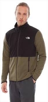 The North Face TKA Glacier Full-Zip Fleece Jacket S Green/Black