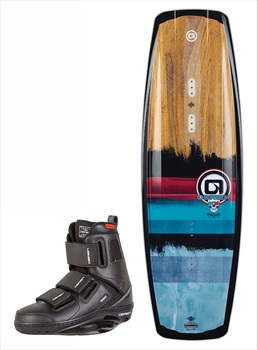 O'Brien INDIE | GTX Cable Wakeboard Package, 140|10-12 Blue