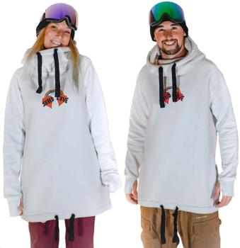 bro! Chill N'shred Unisex Ski/Snowboard Hoodie, S Shred Love